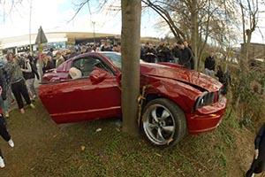 Mustang Crash FAIL