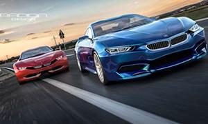 BMW M9 Roadster Design Concept by Razvan Radion