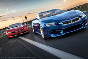 BMW M9 Roadster Design Concept by Razvan Radion