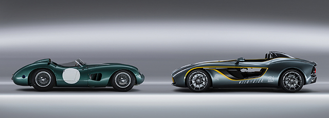 CC100 Speedster and 1959 DBR1
