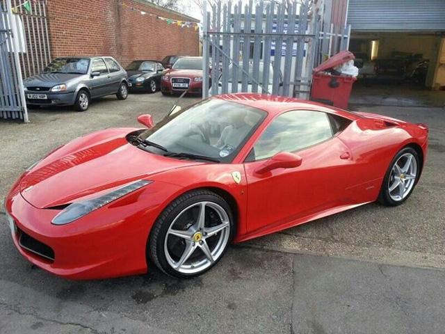 Ferrari 458 Detailer Before