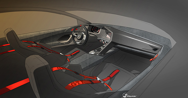 VW Vision Design GTI Interior
