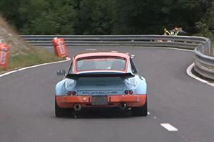 Porsche hillclimbs