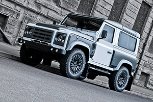 The Chelsea Truck Company Defender XS90 2.2 CDI in Fuji White and Matte Pearl Grey
