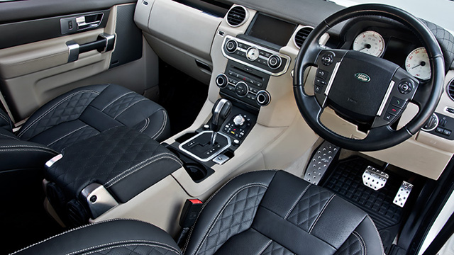 Land Rover Discovery RS300 Interior