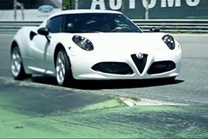 Alfa Romeo 4C Ride