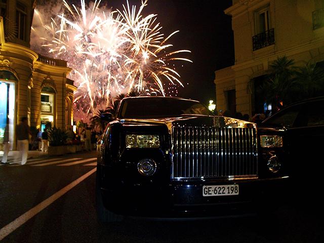 Rolls Royce Fireworks