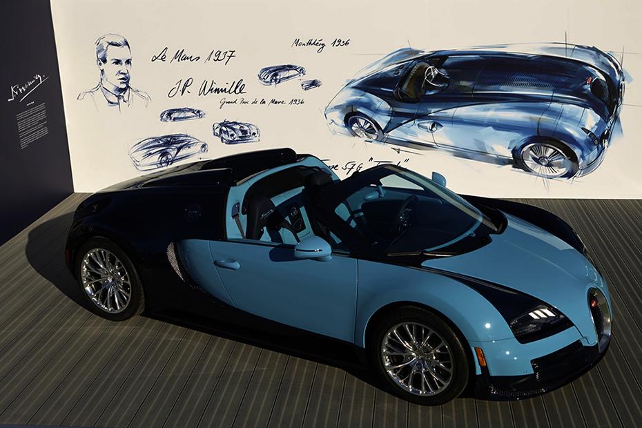 "Bugatti Legend ""Jean-Pierre Wimille"" Veyron"