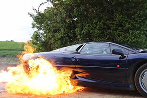 XJ220 Burnout