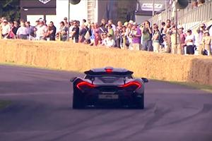 McLaren P1 Goodwood