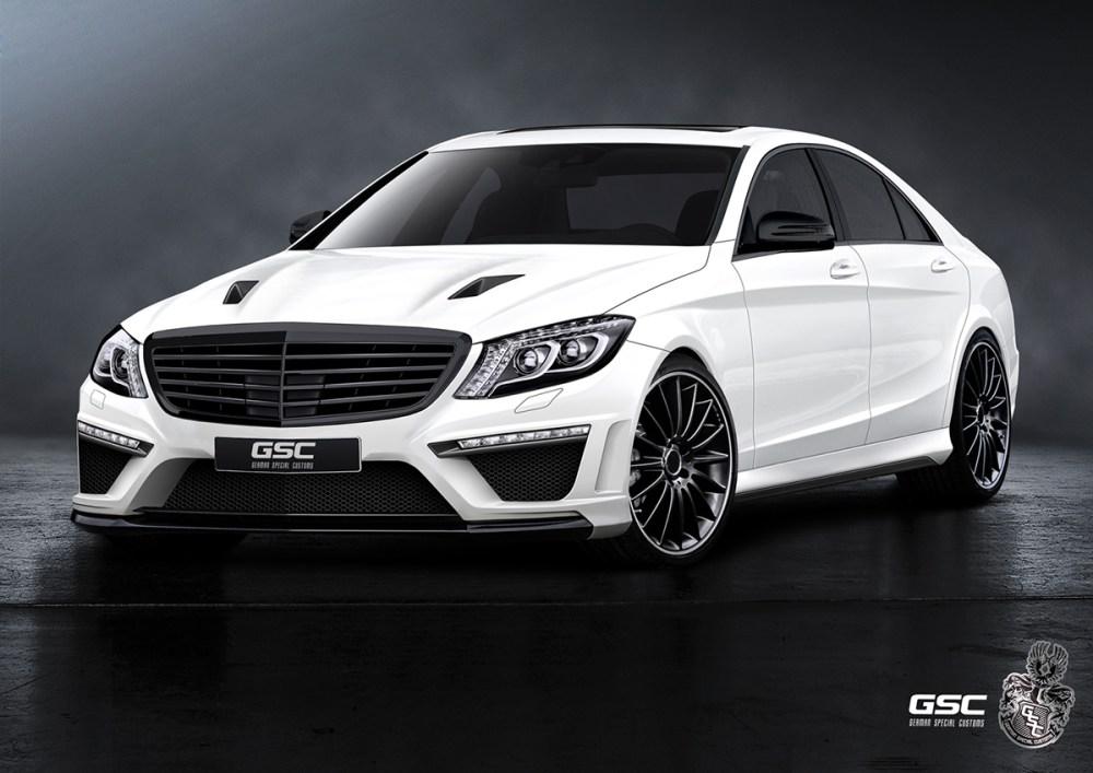 German Special Customs Mercedes-Benz S-Class (W222)