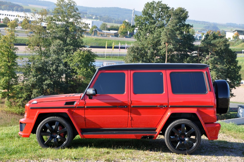 German Special Customs G63 AMG