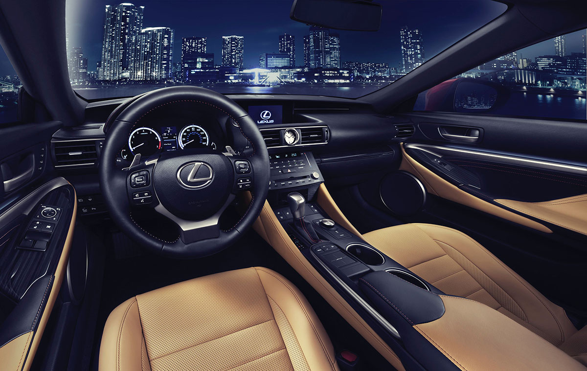 Get ready for the new Lexus RC Coupe