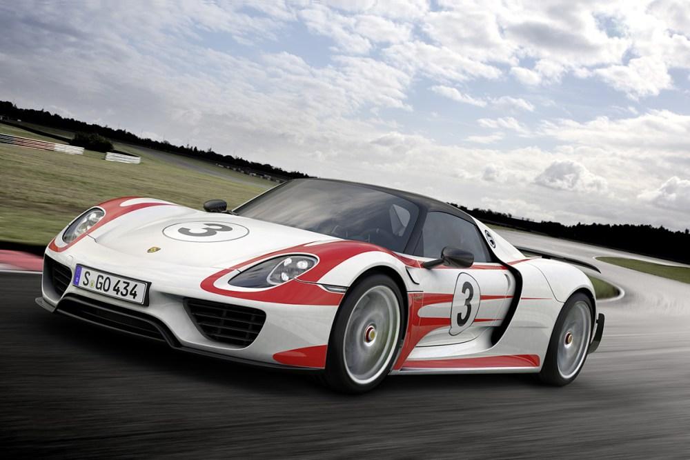 Porsche 918 Spyder Specifications