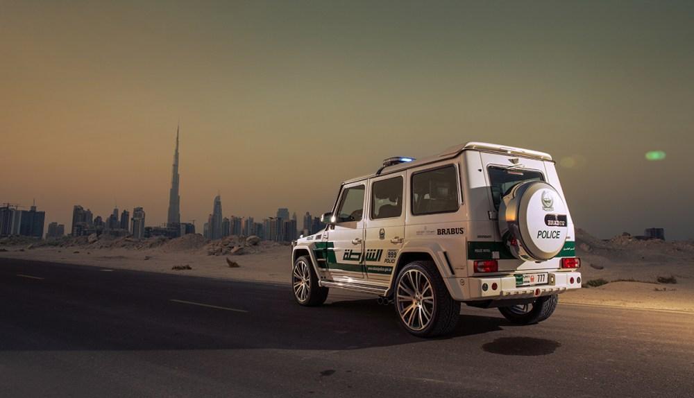Brabus B63S – 700 Widestar Dubai Police