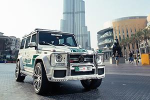 Brabus Dubai Police