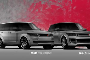 A Kahn Design Range Rover Vogue RS600 and 600 LE