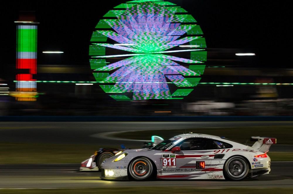 Daytona 2014 - Rolex 24 at Daytona - Porsche North America Porsche 911 RSR by Old Boone