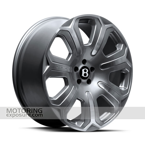 Silver Mist Bentley Wheels
