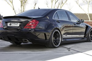 Prior Design Black Edition V2 Widebody W221 S-Class