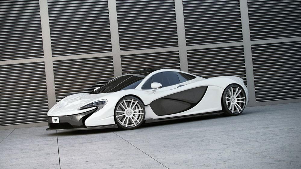McLaren P1 with F.I.W.E. carbonwheels