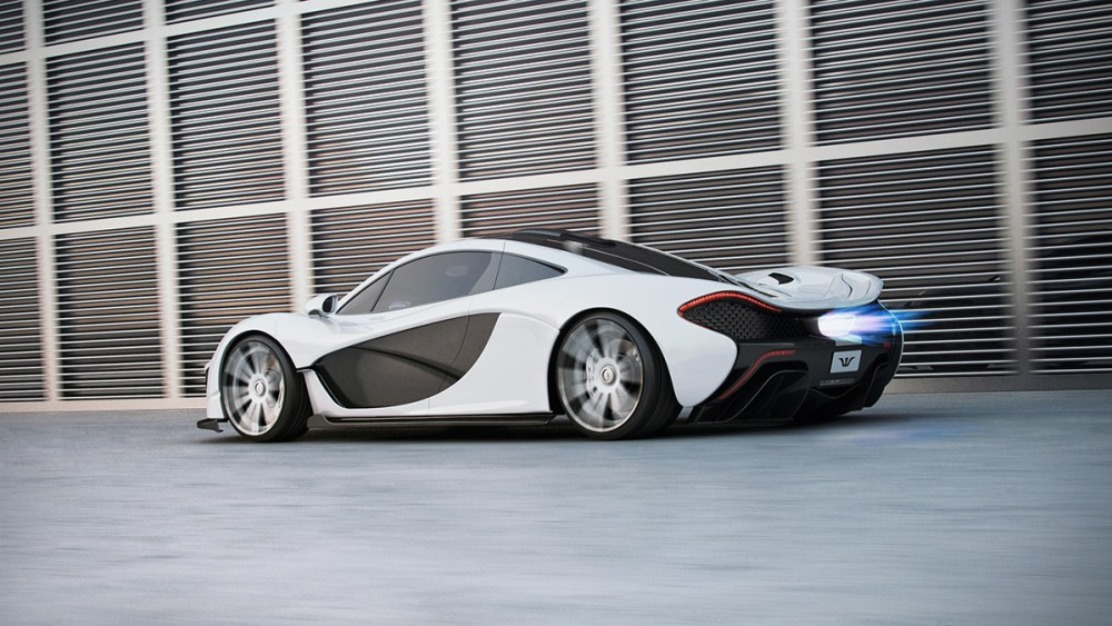 McLaren P1 with F.I.W.E. carbonwheels