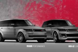 A Kahn Design Range Rover 600LE