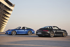 911 Targa 4 and 911 Targa 4S