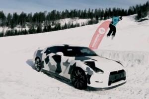Ski Nissan GT-R