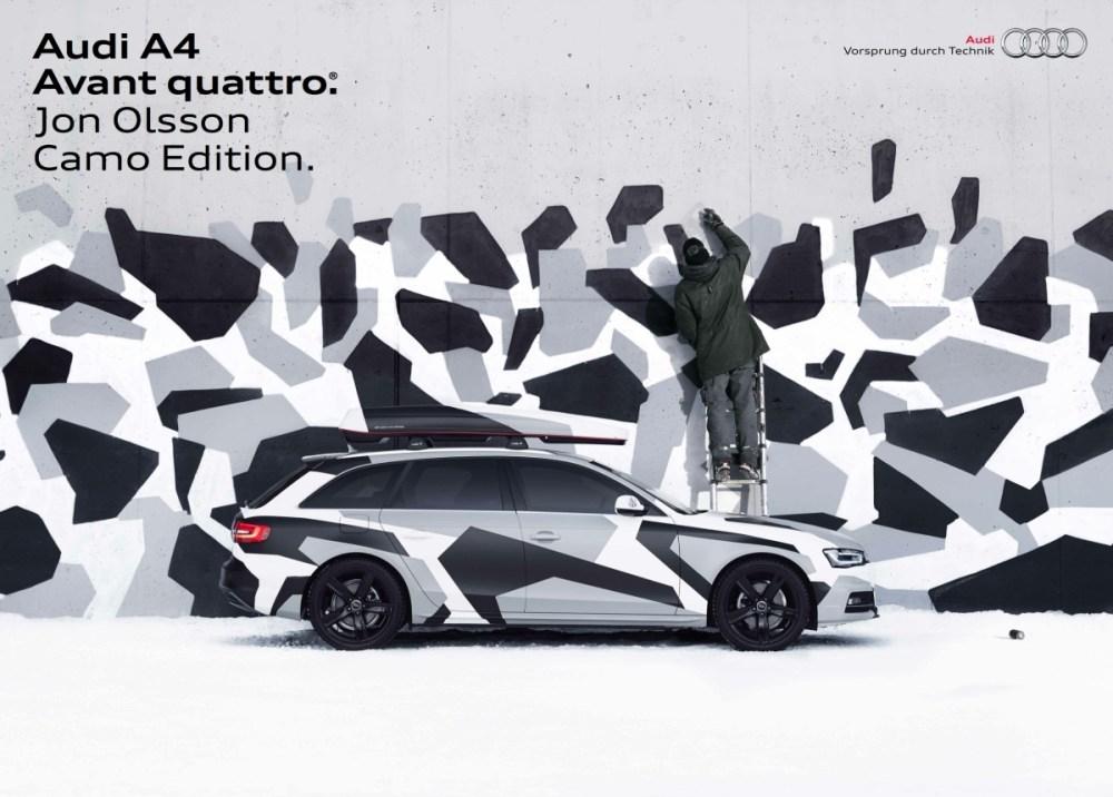 Audi A4 Avant quattro Jon Olsson Camo Edition