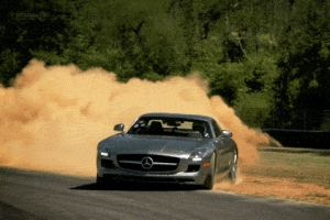 SLS AMG Weekend GIF