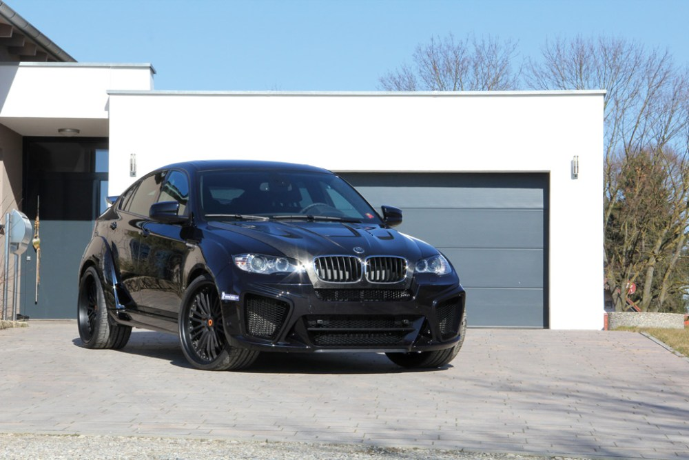 The G-Power BMW X6 M Typhoon Roars in with 725 HP