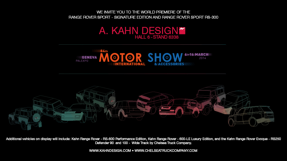 Geneva 2014 A Kahn Design