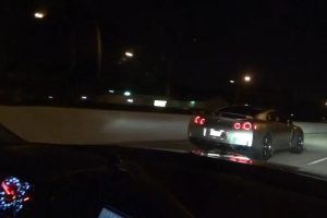 GT-R Drag Race