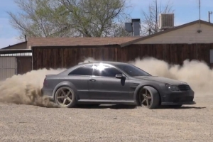 CLK 63 AMG Dirt Drift