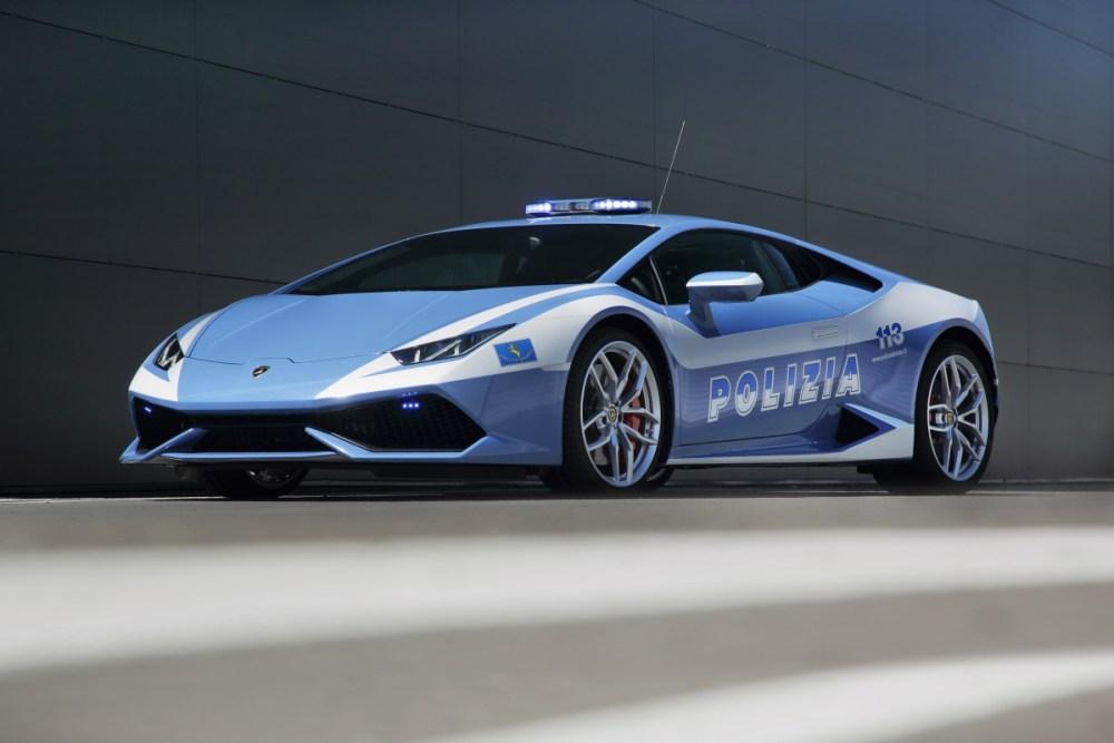 Lamborghini Huracán LP 610-4 Police