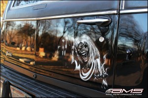 """AMS """"Madness"""" Chevrolet Caprice Hearse"""