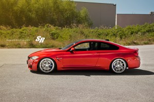 BMW M4 with PUR 4OUR.SP Forged Monoblock Wheels