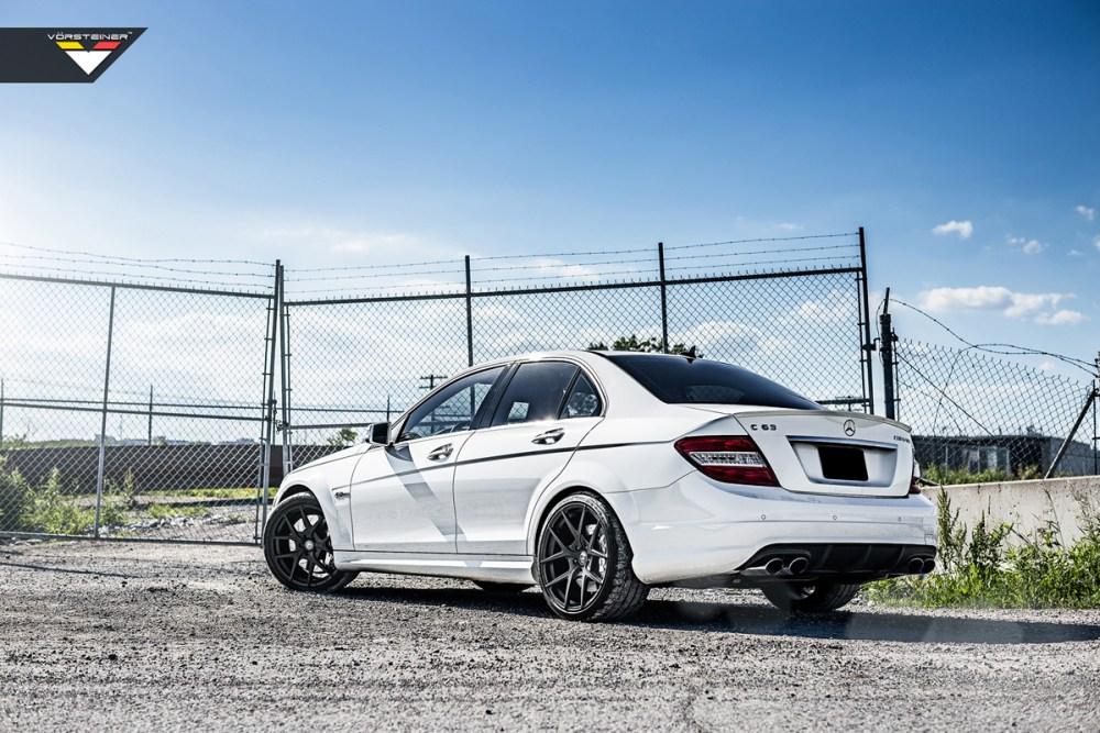 Mercedes-Benz C63 AMG Vorsteiner V-FF 101 wheelsMercedes-Benz C63 AMG Vorsteiner V-FF 101 wheels