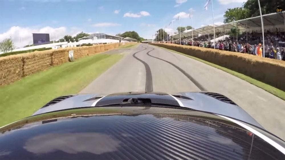 Koenigsegg One:1 at Goodwood