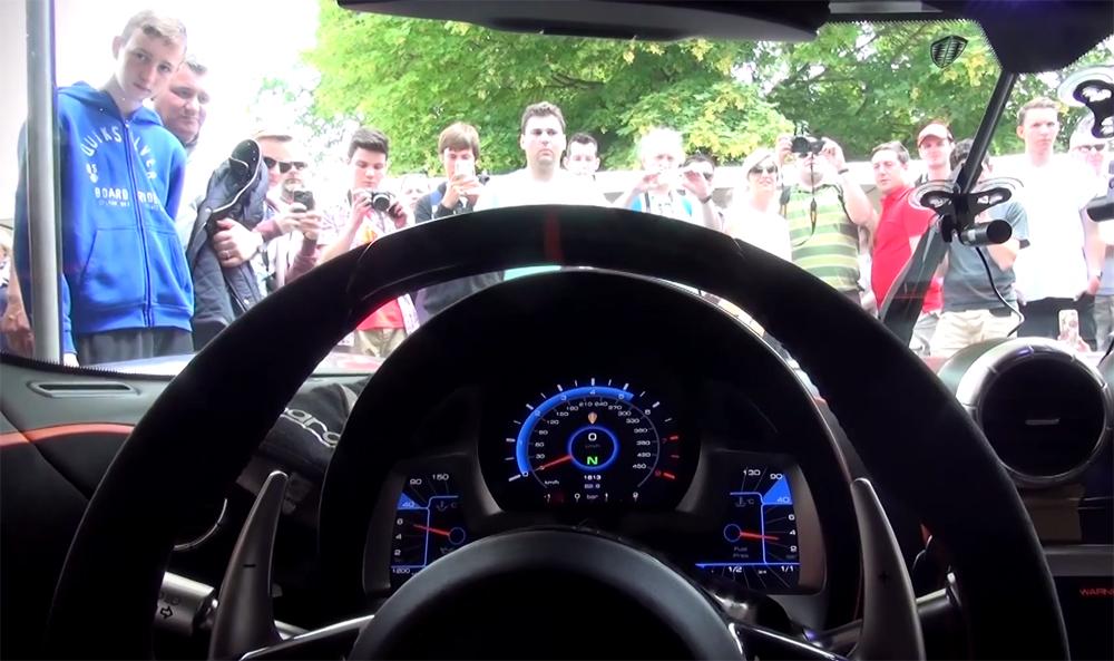 Koenigsegg One:1 Burnout