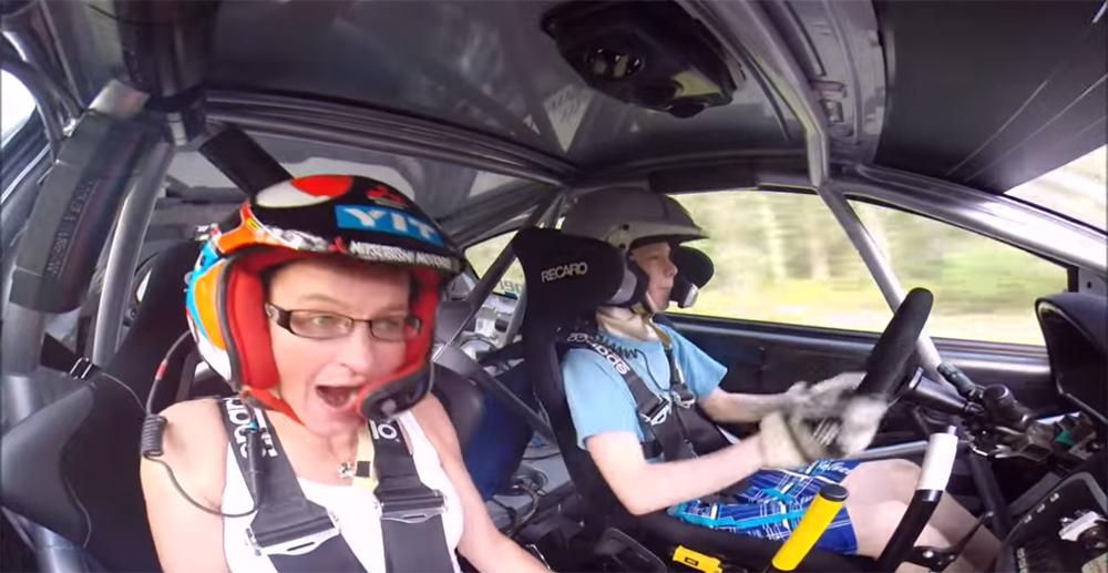 Kid Rally Driver