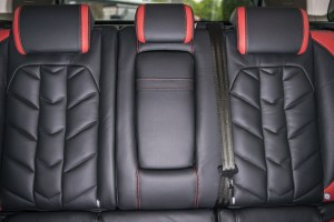 A Kahn Design Herringbone Soft Leather Interior