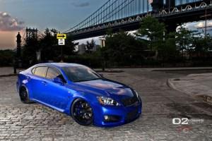 Lexus IS F D2Forged FMS05 Wheels