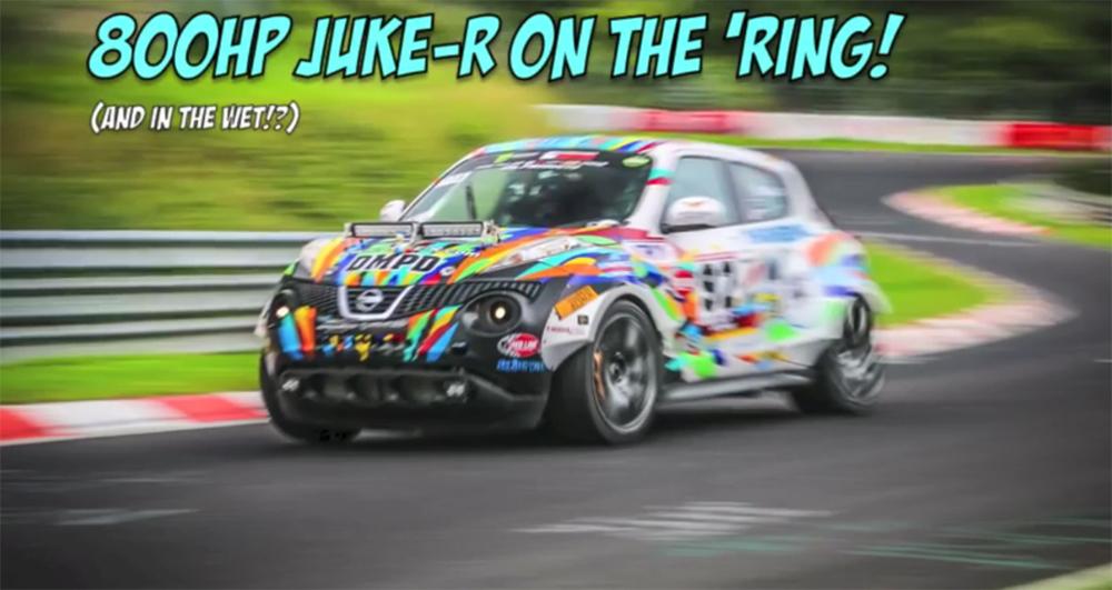 Juke-R Nürburgring Nordschleife
