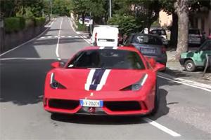 Ferrari 458 Scrape