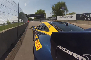 McLaren MP4-12C GT3 at Belle Isle