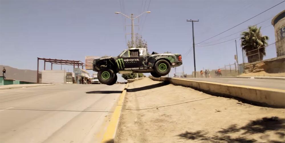 Ballistic BJ Baldwin Recoil 2 - Unleashed in Ensenada, Mexico