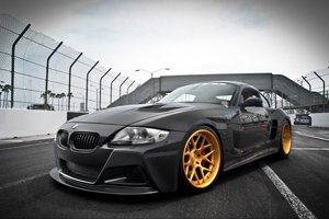 BMW Z4 M Coupe with RSV Forged S|1 RS7M Wheels
