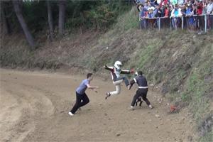 Kartcross fight